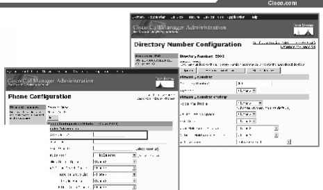 Phone and Directory Number Configuration - Cisco Communicator
