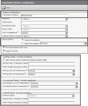 Translation Patterns - Cisco Unified - Cisco Certified Expert