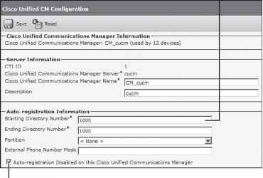 IP Phone Auto Registration - Cisco Unified - Cisco Certified