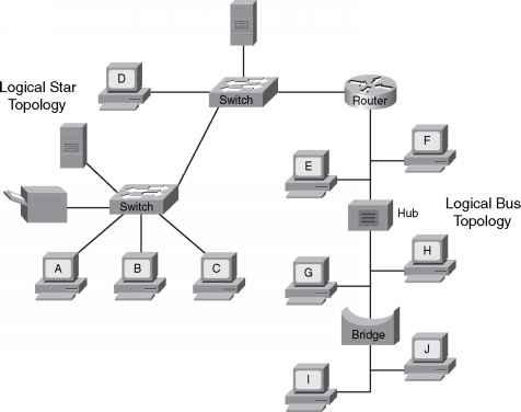 Logical Topologies - Data Link - Cisco Certified Expert