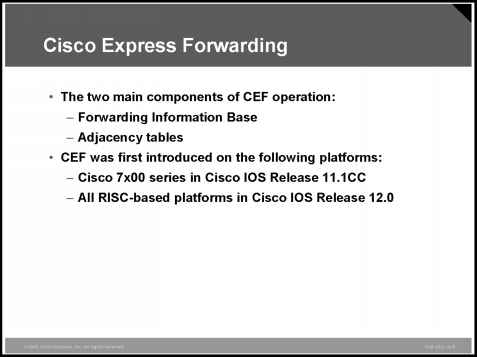 Cisco Express Forwarding